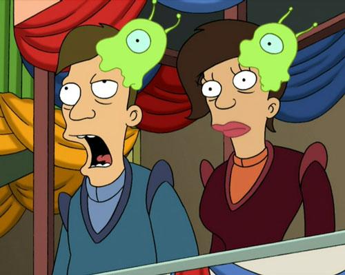 Babosas cerebrales de Futurama