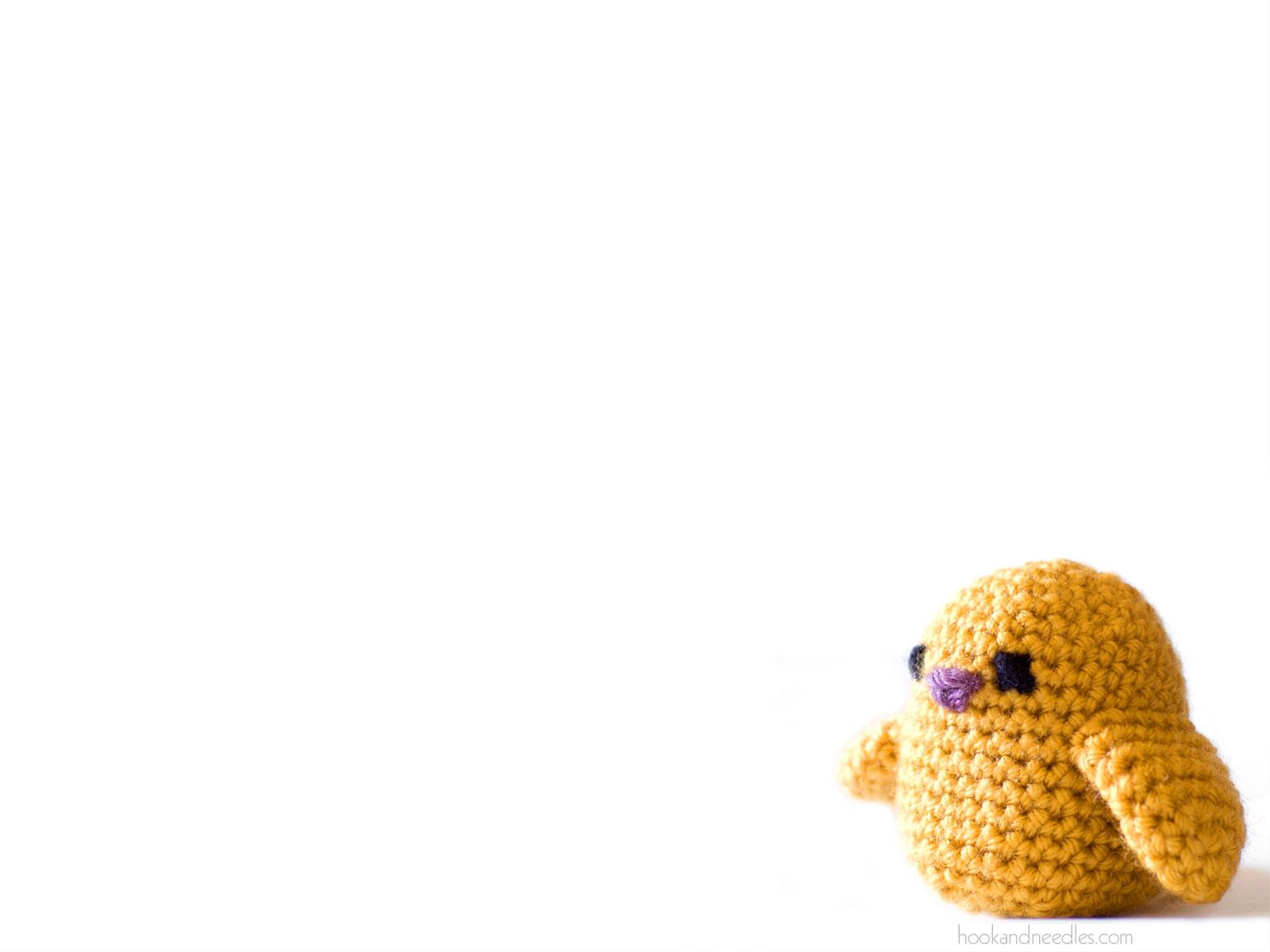 Knitting Wallpaper Desktop : Birdies amigurumi desktop wallpaper hook and needles